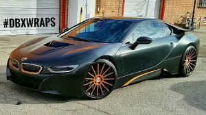 Bmw I8 Black And Blue - project bmw i8 wrapped in satin black aka frozen black with matte