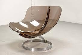 rare boris tabacoff u0027sphere u0027 lounge chair by mmm 1971 hpvintage com