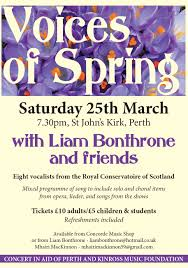 voices of spring perth u0026 kinross music foundation