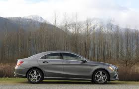 luxury mercedes sedan car review 2014 mercedes benz cla driving