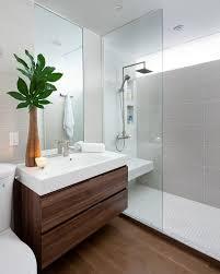 Contemporary Tile Bathroom - grespania tile bathroom modern with wood vanity bathtubs