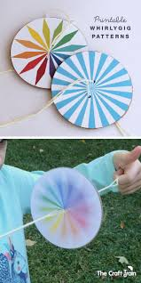 how to make a whirlygig craft activities and free printable