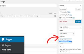 wordpress theme editor gone to create a custom page in wordpress