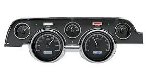 67 Mustang Black 1967 68 Ford Mustang Vhx Instruments