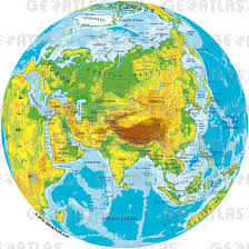 Blank World Physical Map Pdf by Geoatlas Globes Asia Map City Illustrator Fully Modifiable