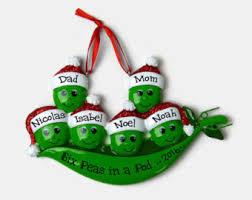 pea pod ornament etsy