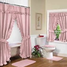 Fabric Shower Curtains With Valance 17 Best Images About Neutral Shower Curtains For Every Bathroom On