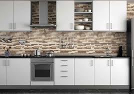 kitchen backsplash designs subway tile travertine subway tile modern kitchen backsplash designs decoration using dark brown glass tile including steel
