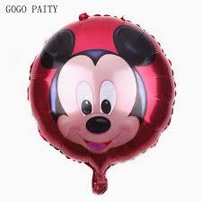balloon wholesale gogo paity 18inch mickey aluminum balloon decoration balloon