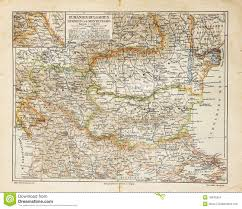 Map Of Romania Map Of Romania And Serbia Stock Photo Image 35094260