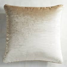 Pier One Peacock Pillow by Luxe Velvet Ivory Striped Pillow Pier 1 Imports