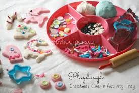 christmas play dough cookie factory happy hooligans
