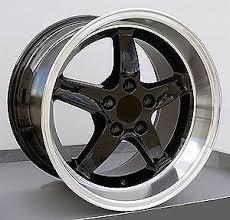 98 mustang cobra wheels oe wheels 8181903 mustang cobra r 98 dish wheel size 17 x