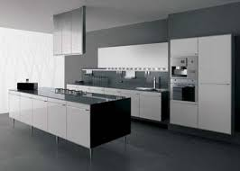 White And Black Kitchen Designs by Simple 50 Modern White And Black Kitchen Decorating Design Of