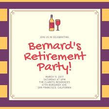 retirement party invitation wording retirement party invitations 4757 together with stripes retirement
