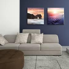 Wanddeko Wohnzimmer Modern Artissimo Glasbild 50x50cm Ag2163a Change Your Life