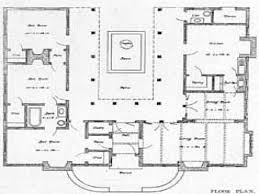 central courtyard house plans u shaped two story house plans u shaped house plans with