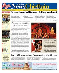 poway news chieftain 12 15 16 by mainstreet media issuu