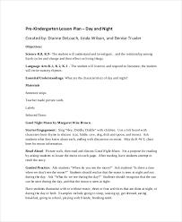 kindergarten lesson plan template kindergartners retell stories