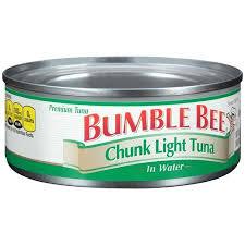 bumble bee chunk light tuna bumble bee chunk light tuna in water 5oz sheri s store to door
