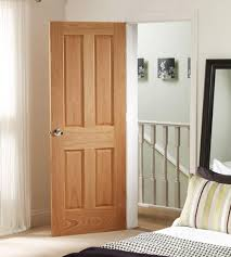 Oak Interior Doors Xl Joinery Pre Finished 4 Panel Oak Door