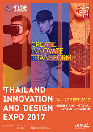 thailand innovation and design expo 2017 t i d e 2017 thai