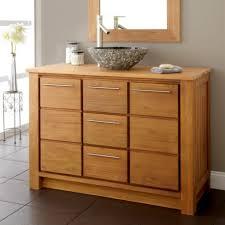 luxurious and splendid real wood vanity solid wood bathroom