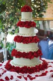 wedding cake with red roses wedding pinterest red roses
