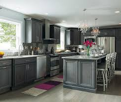 grey finish kitchen cabinets grey kitchen cabinets are the in thing and cobblestone is