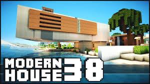 Modern House Minecraft Minecraft Modern House 38 Youtube