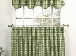 Blue Plaid Kitchen Curtains by Curtains Buffalo Gingham Check Kitchen Tier Curtains Awesome