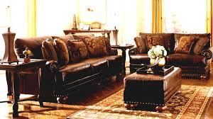 ashley furniture chair and ottoman traditional living roomgallery room with ashley furniture dark brown