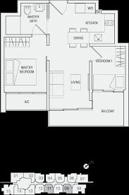 eon shenton floor plan residential a3 m