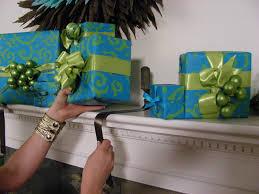 wrapped gift holders hgtv