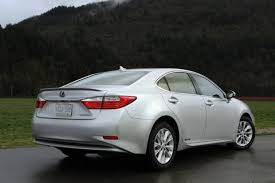 lexus es hybrid tax credit car review 2014 lexus es300h driving