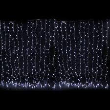 brilliant decoration netted lights snowfall curtain led