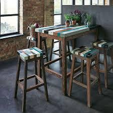 cuisine table haute table haute bar cuisine table haute avec chaise maisonjoffrois