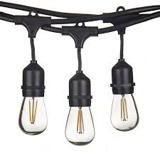 Outdoor Patio String Lights Led by Bright Path Led Indoor Outdoor Weatherproof Commercial Grade