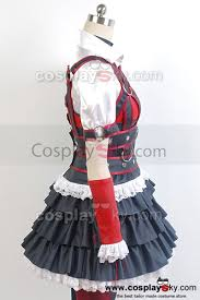 batman arkham knight harley quinn dress cosplay costume