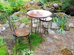 Vintage Bistro Table Gorgeous Vintage Bistro Table And Chairs Victorian Industrial Rare