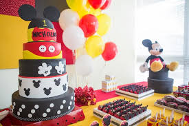 mickey mouse party decorations kara s party ideas mickey mouse party planning ideas supplies idea
