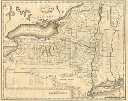 Map New York State by State Of New York January 1 1824 Antique Maps And Charts