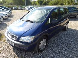 used vauxhall zafira 2004 for sale motors co uk