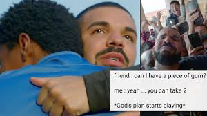Meme Pics - people have turned drake s god s plan video into a meme popbuzz