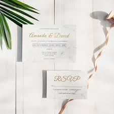 wedding invitations gold foil modern simple gold foil wedding invites swws035 stylishwedd