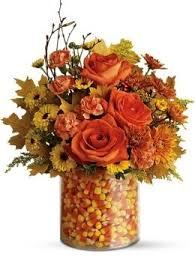 florist columbus ohio candy corn bouquet autumn flowers columbus ohio florist griffins