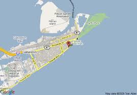 galveston island map map of inn sunspree resort galveston galveston