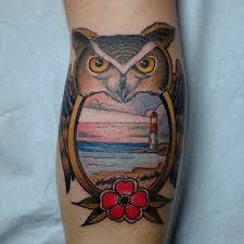 47 best owl tattoos of all tattooblend