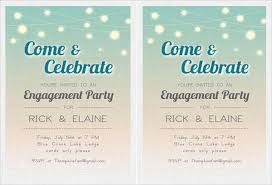 engagement party invitations free free printable engagement party