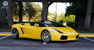 Lamborghini Gallardo Custom - modulare wheels lamborghini gallardo spyder 20